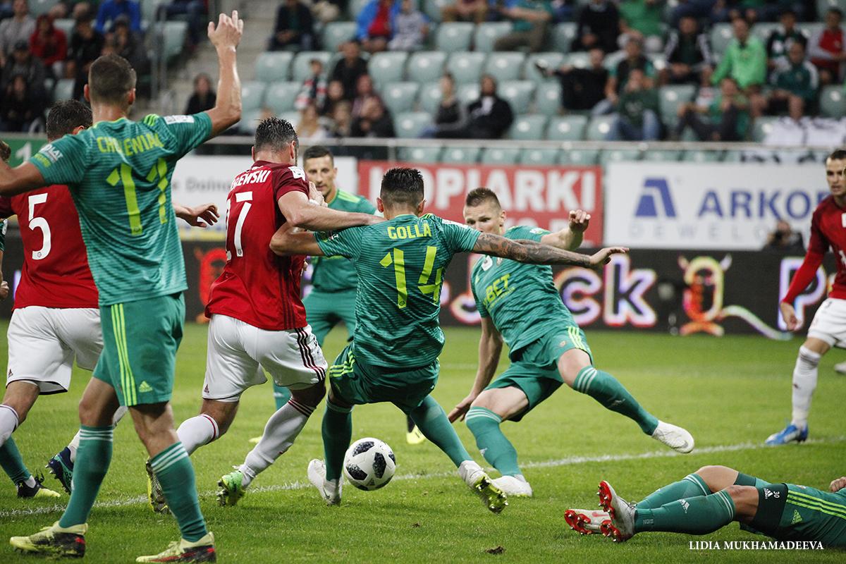 Mecz Ekstraklasy Śląsk Wrocław - Wisła Kraków