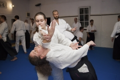 Trening Aikido w klubie Aikikai