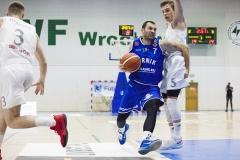 Mecz koszyówki Śląsk Wrocław - Górnik Wałbrzych