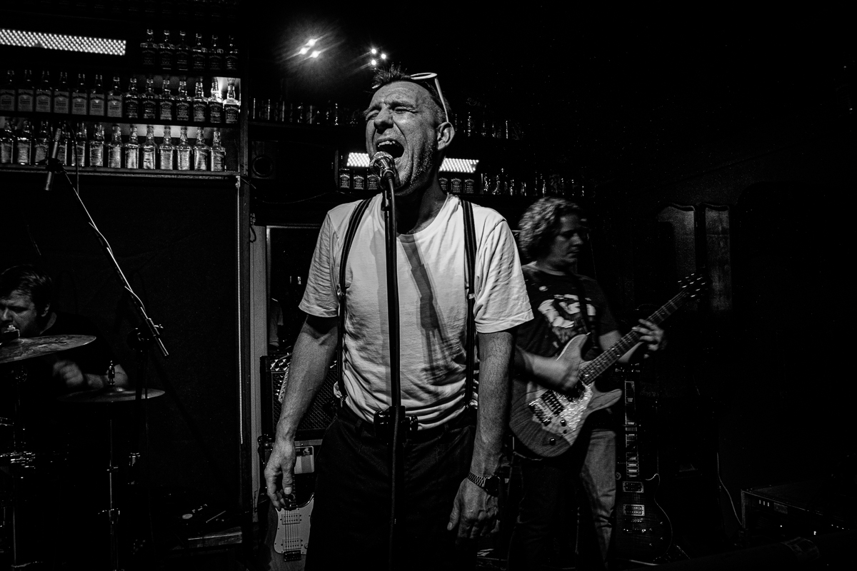 Zdjęcie koncertu w klubie Alive we Wrocławiu
