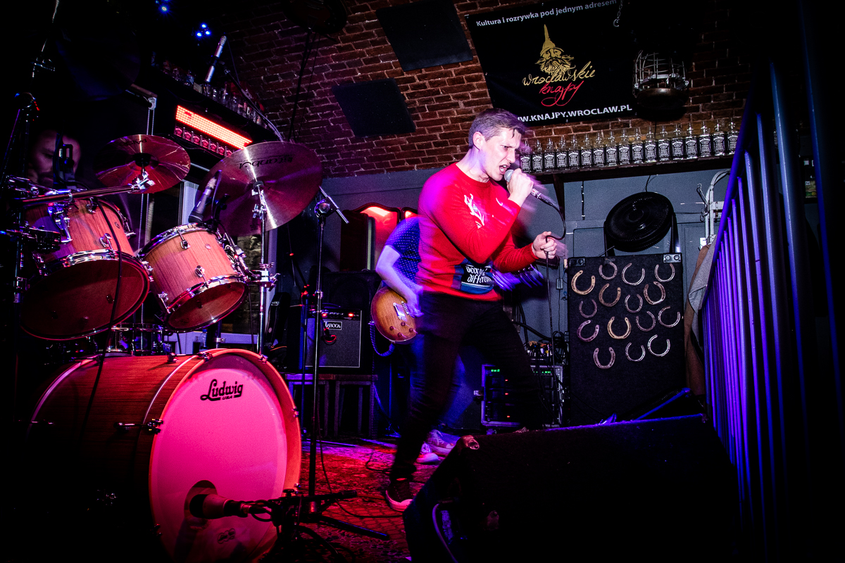 Zespół Playground.51 w klubie Alive we Wrocławiu