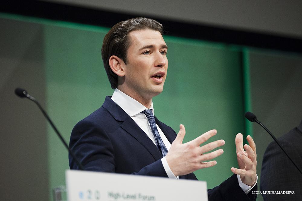 Sebastian Kurz, kanclerz Austrii / Lidia Mukhamadeeva