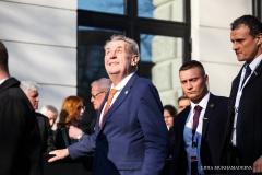 Prezydent Czech Milosz Zeman / Lidia Mukhamadeeva