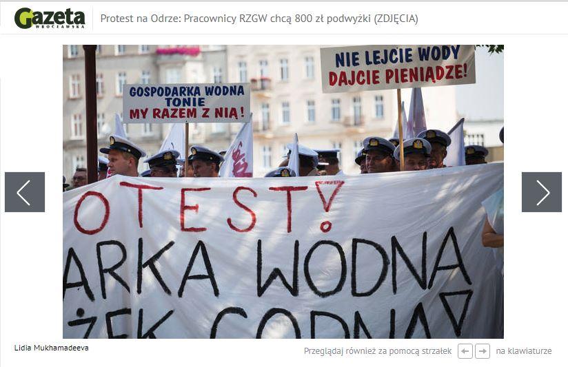 Publikacja w Gazecie Wrocławskiej