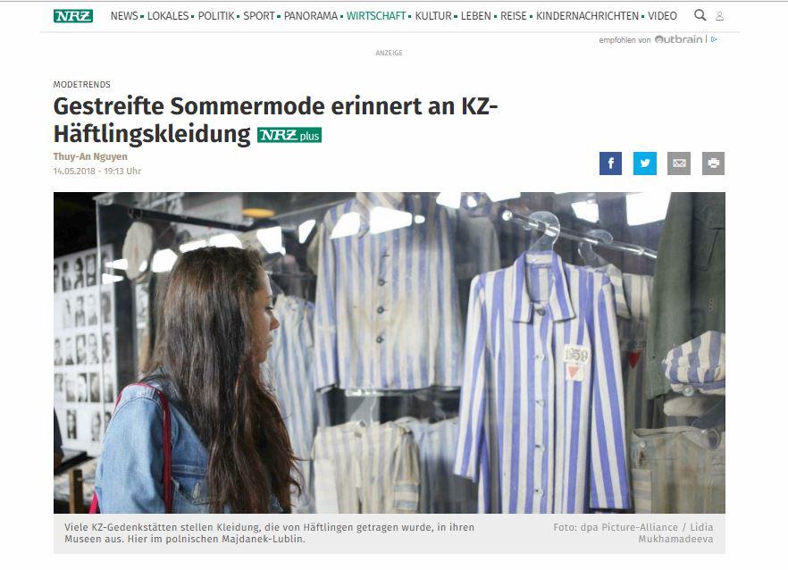 Publikacja na NRZ, Germany