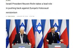 Publikacja w Jewish Telegrapchic Agency