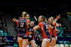 Mecz siatkówki kobiet Impel Wrocław - Budowlani Łódź
